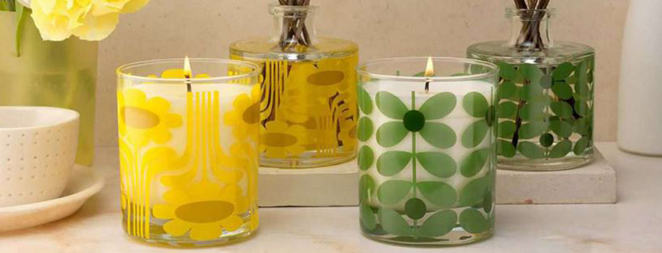 خوشبو کننده شمع (شمع معطر)